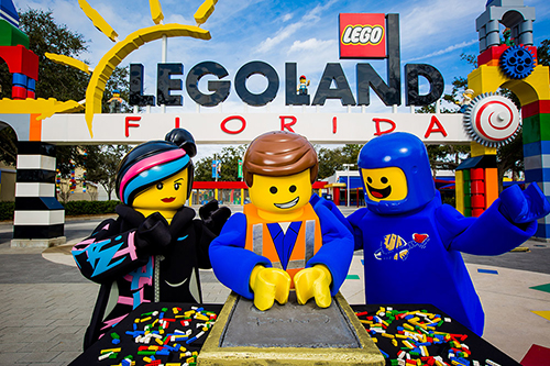 Legoland Florida Ingresso de 02 dias com Waterpark Combo